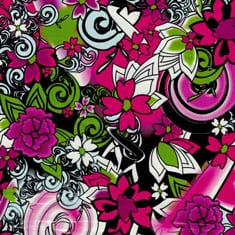 Floral Hydro Dipping Patterns