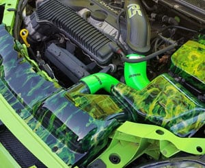 Focus RS Engine Bay