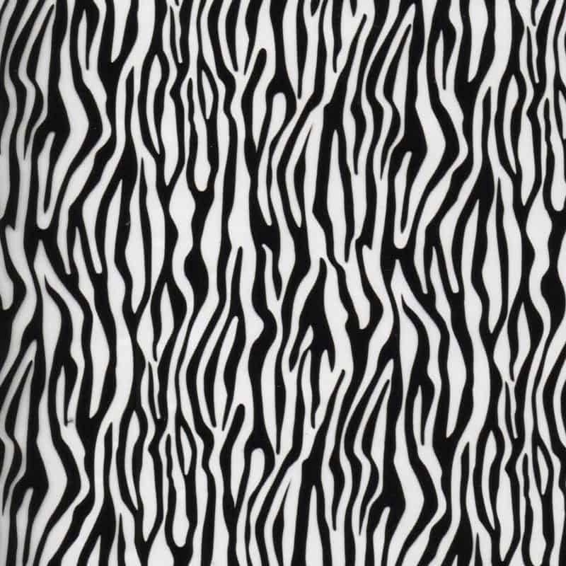 Small Zebra Hydro Dipping Pattern