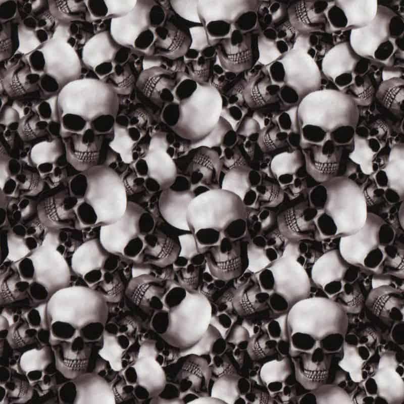 3D Skulls Hydro Dipping Pattern