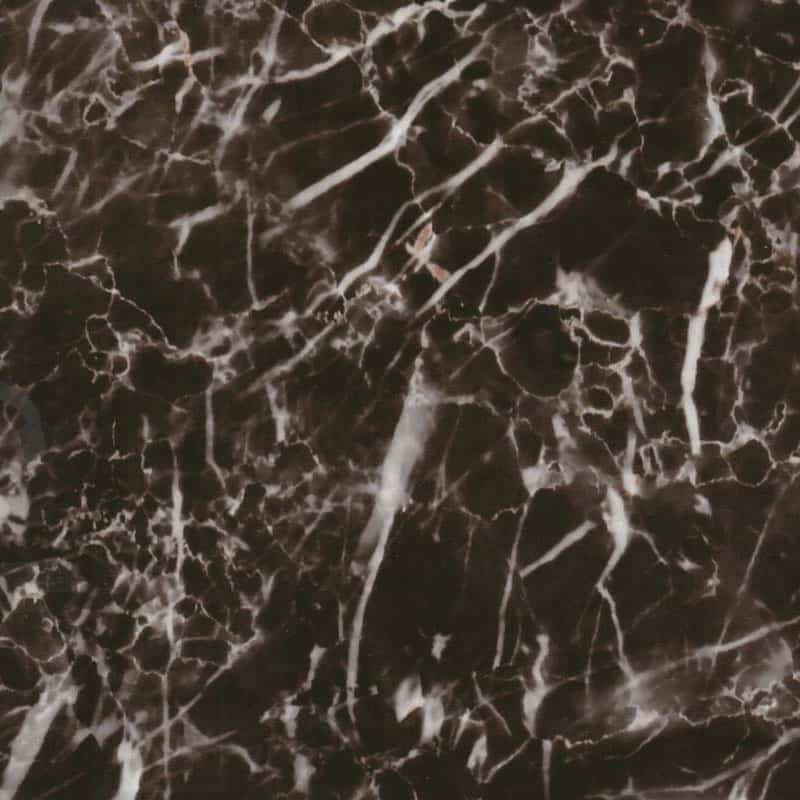 Black & Clear Marble Hydro Dipping Pattern
