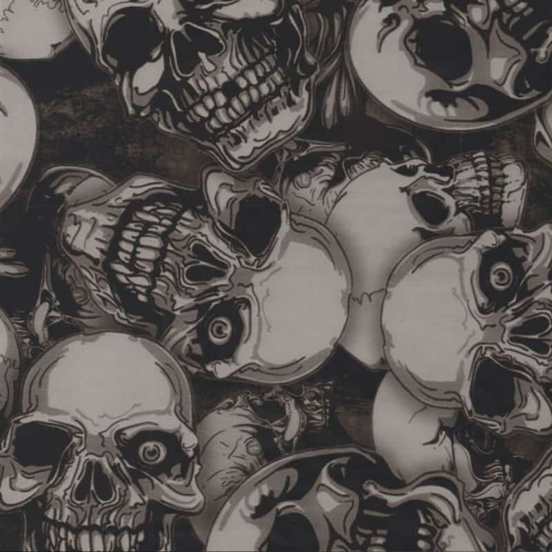 Demon Skulls Hydro Dipping Pattern