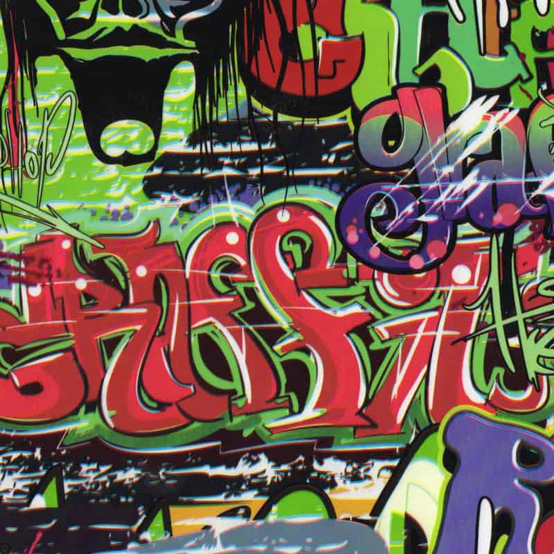 Graffiti 2 Hydro Dipping Pattern