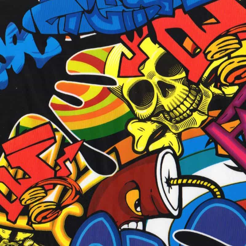 Graffiti 1 Hydro Dipping Pattern