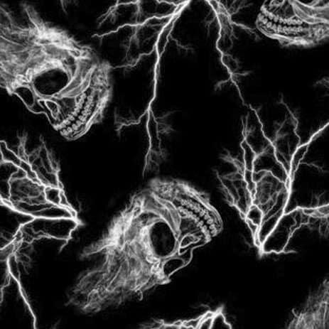 Lightning Skulls Hydro Dipping Pattern
