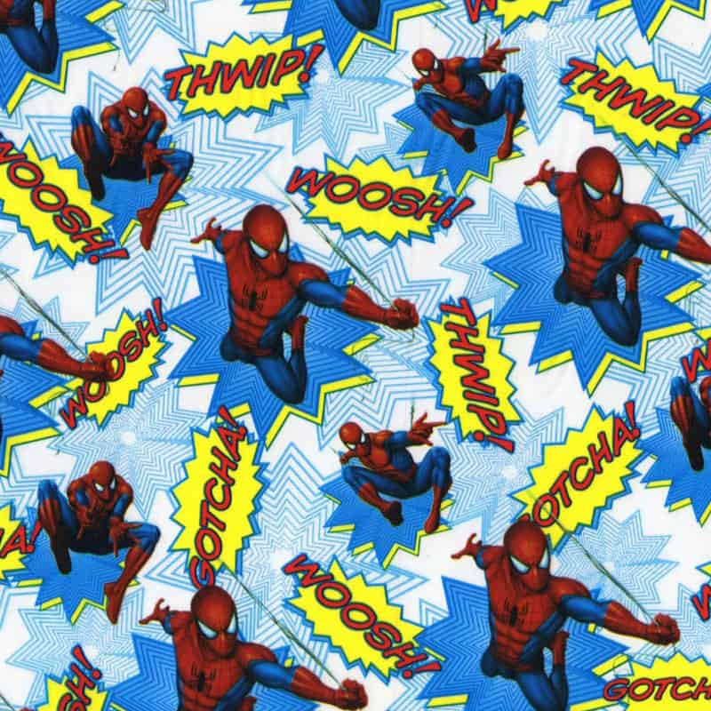 Spiderman Hydro Dipping Pattern