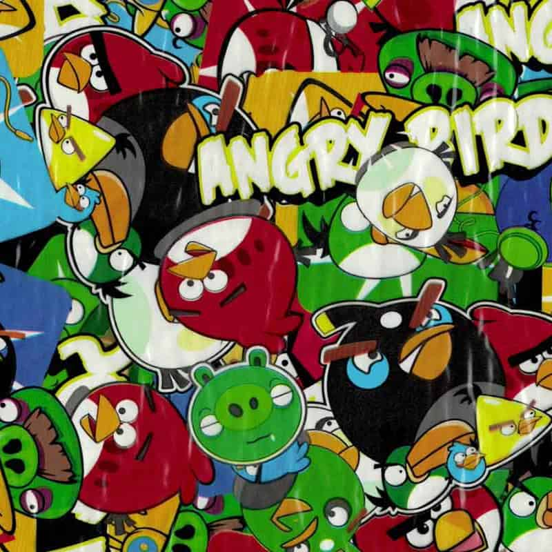 Angry Birds Hydro Dipping Pattern