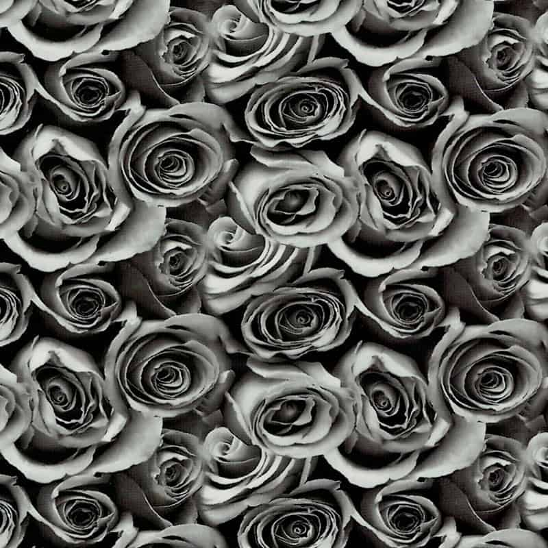 Clear Roses Hydro Dipping Pattern