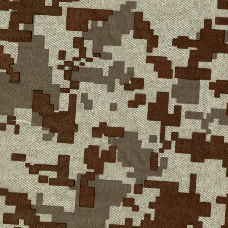 Desert Camo Fabric Hydro Dipping Pattern