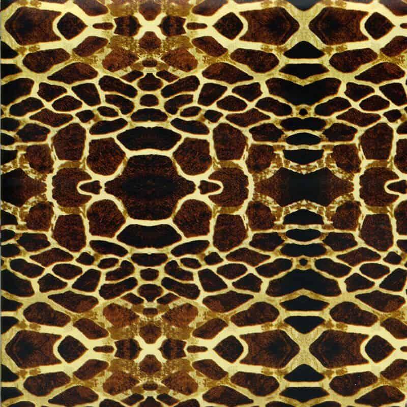 Giraffe Pattern Hydro Dipping Pattern
