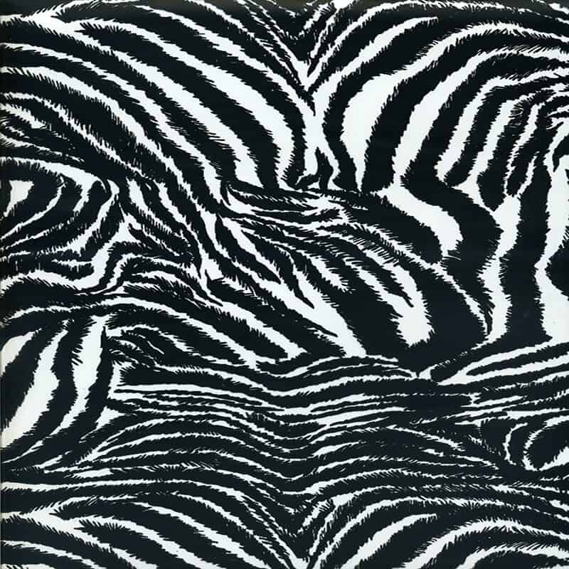 Hairy Zebra Hydro Dipping Pattern