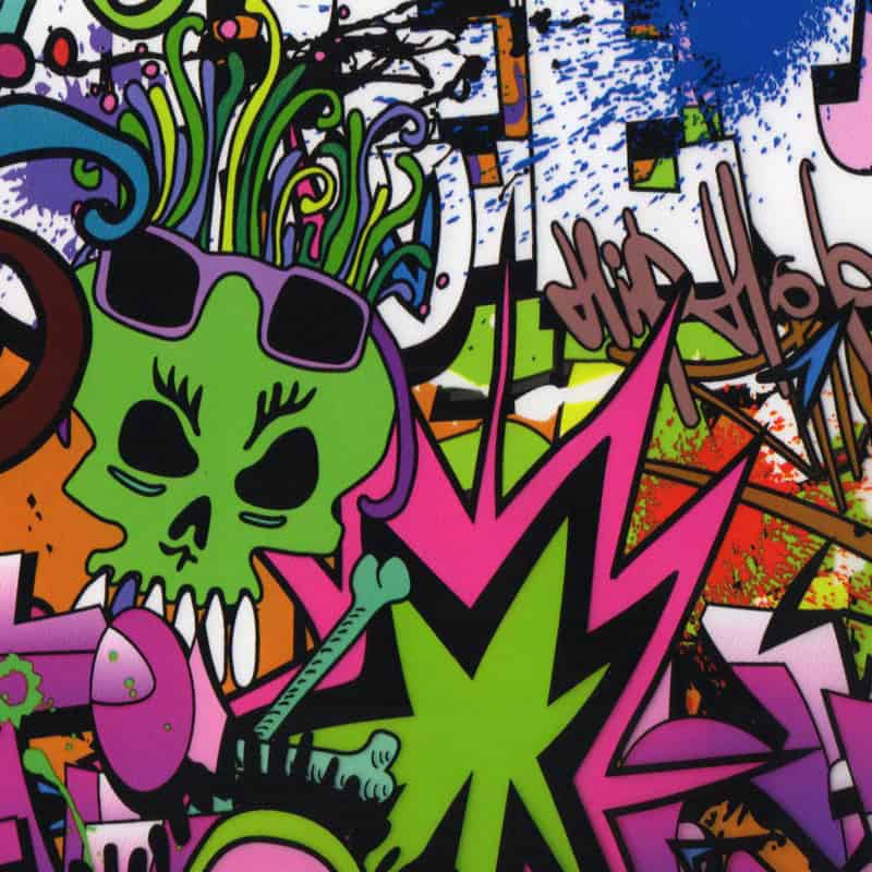 Hip Hop Hydro Dipping Pattern