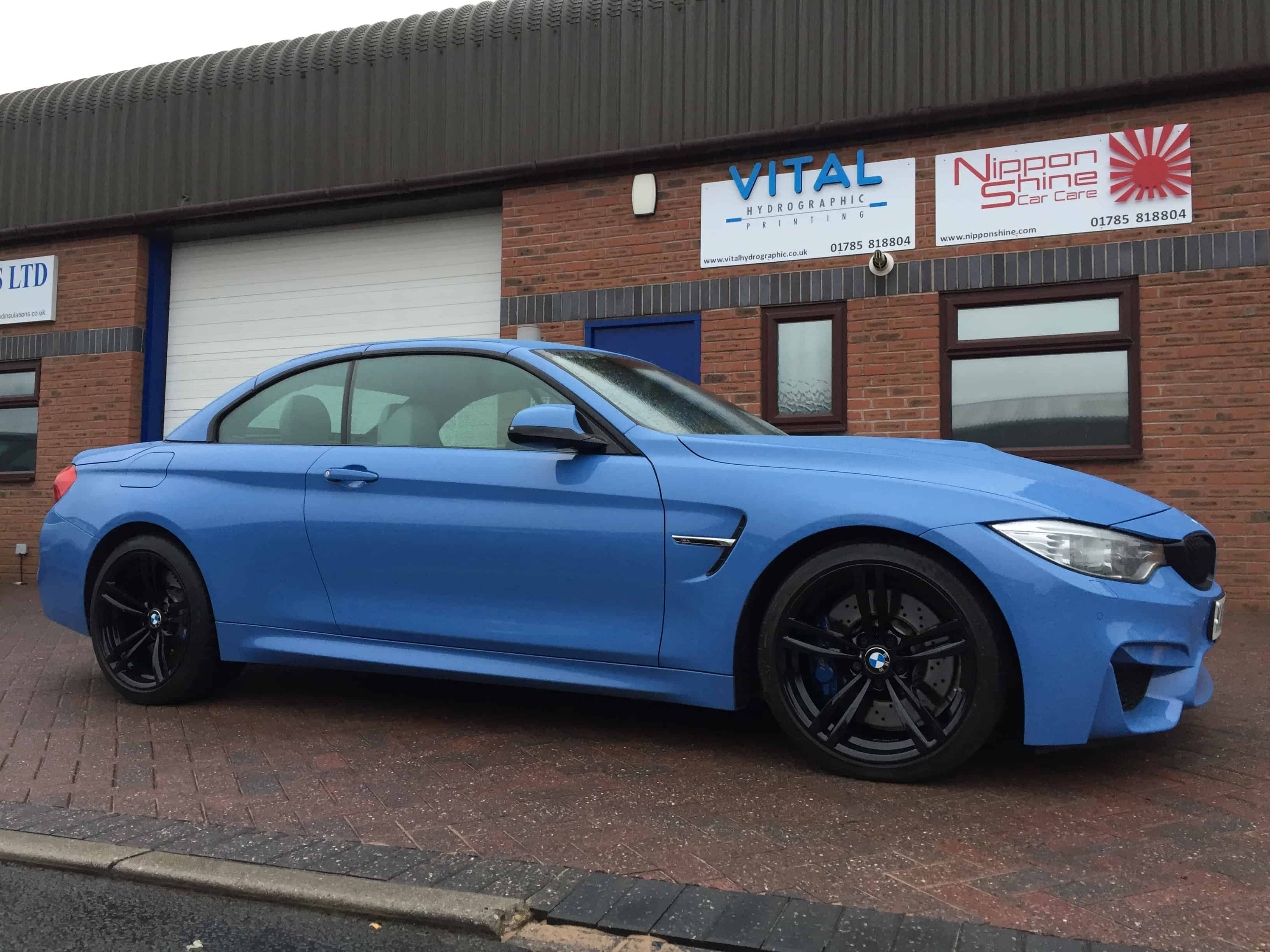 Bmw M4 Alloys Finished In Gloss Black Vital Hydrographic