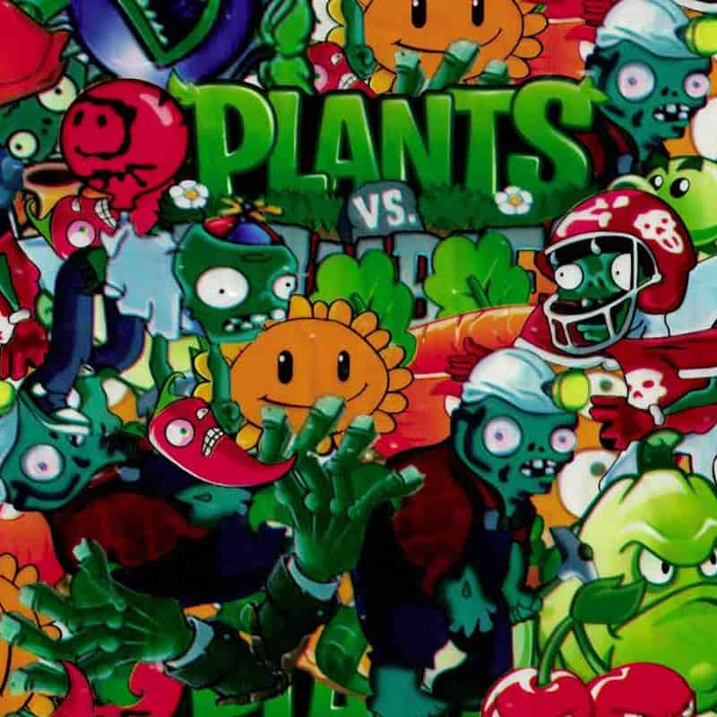 Plants vs Zombies Hydro Dipping Pattern