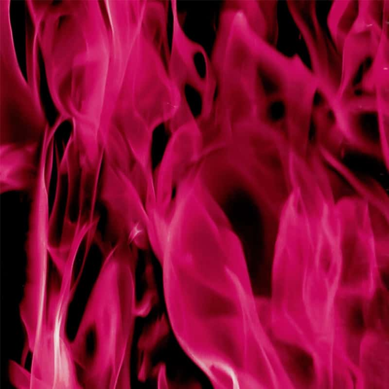 True Pink Flames Hydro Dipping Pattern
