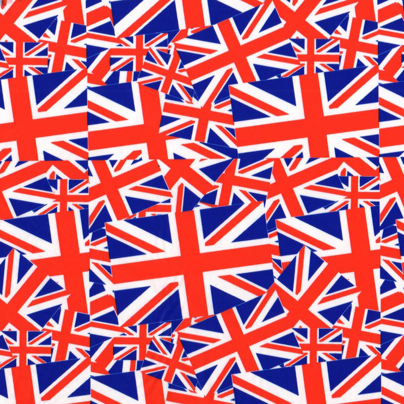 Union Jack Hydro Dipping Pattern