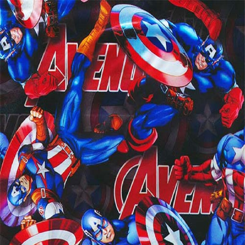 Captain America Hydro Dipping Pattern