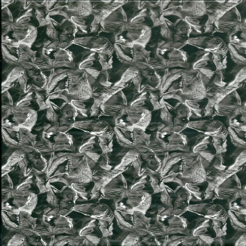 Dinosaur Hydro Dipping Pattern