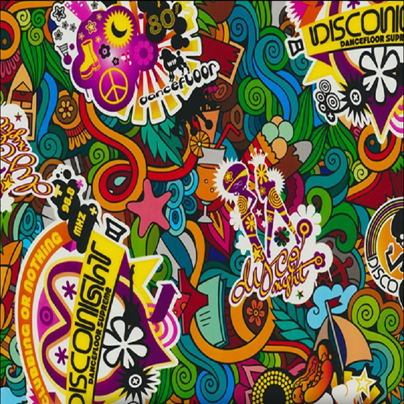 Disco Bomb Hydro Dipping Pattern