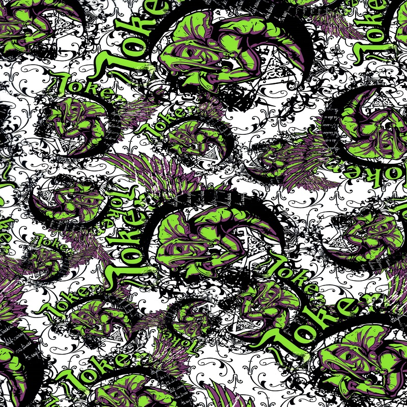 Joker Hydro Dipping Pattern