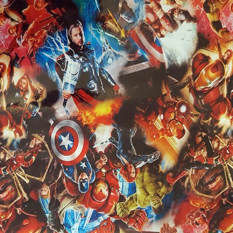 Marvel Heroes 2 Hydro Dipping Pattern
