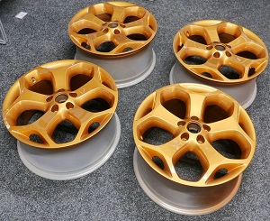 Gold Focus ST Wheels