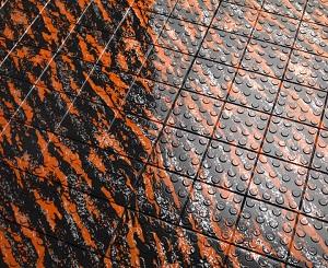 Orange Marble Flooring